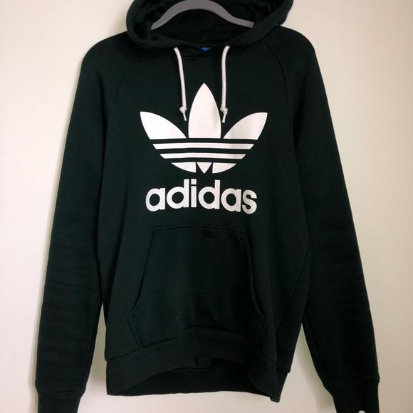 adidas hoodie dark green